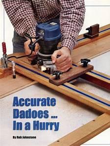 Dado Router Jig Plans • WoodArchivist
