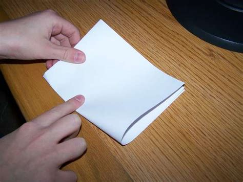 fold   sheet  paper  times  thickness