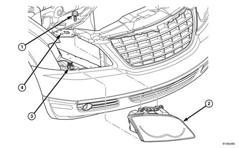 Chrysler Sebring Wiring Harnes Headlight by 2004 Pacifica How Do You Remove The Headlight Housing To