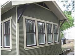 Exterior Window Color Schemes by Exterior Paint Green Button Homes