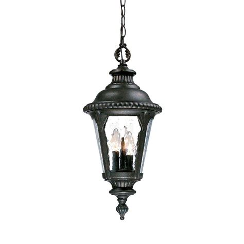 Hanging Porch Light Fixtures by Acclaim Lighting Surrey Collection Hanging Lantern 3 Light