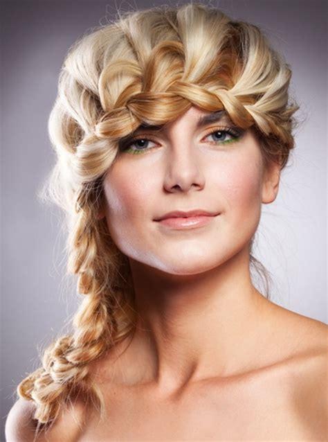 easy braided hairstyle ideas  medium length hair elle