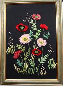 The Flower Bed With Tulips Embroidery Kit