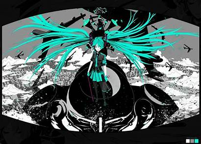 War Miku Hatsune Vocaloid Wallpapers Illustrators Arsenixc