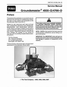 02104sl Pdf Groundsmaster 4500 4700