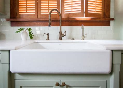 how to install a farm sink installing an apron front sink how tos diy