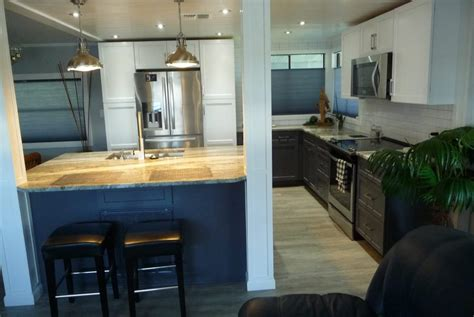 jaw dropping mobile home kitchen upgrade mobile home