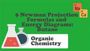 9 Newman Projection Formulas And Energy Diagrams