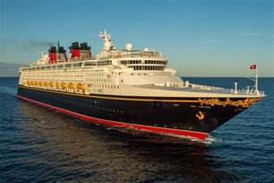 Disney Magic Cruise Ship Night