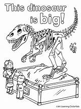 Museum Coloring Natural Printable Dinosaur Bee Visit Reader Friends Getcolorings Familyfriendlywork sketch template