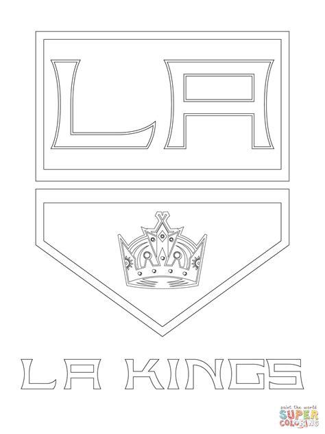 Coloriage Logo Des Kings De Los Angeles Coloriages