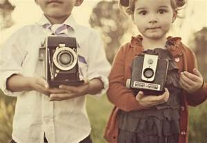 adorable, camera, cute, kids, photo, vintage - image ...