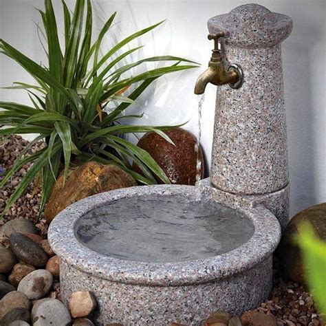 Water Features For Dogs Granite Tap Bowl Feature