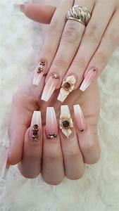 pin de mari vázquez en uñas uñas de gel cuadradas uñas