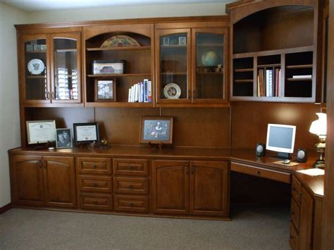 desk with cabinets built in custom home office cabinets cabinet wholesalers
