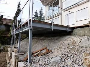 Terrasse Am Hang : balkone waldbauer stahlbau b blingen leonberg stuttgart ~ A.2002-acura-tl-radio.info Haus und Dekorationen