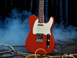 Red White Color Fender Telecaster NOS Dakota Guitar HD ...