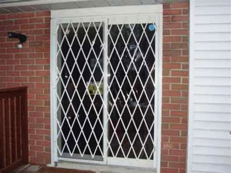 folding gate for patio door security