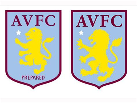 Aston Villa badge: Club spend £80,000 to remove the word ...