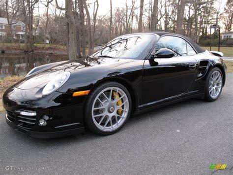 black porsche 911 turbo 2012 black porsche 911 turbo s cabriolet 61580185