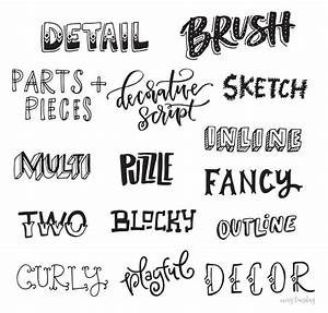 Freebie: Hand Lettering Style Inspiration Guide | Hand ...