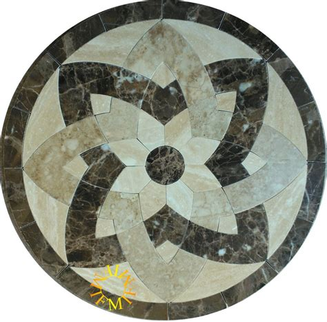 48 floor tile marble medallion 2026