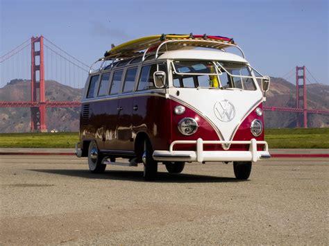 volkswagen hippie van front 1964 volkswagen deluxe microbus chameleon front and