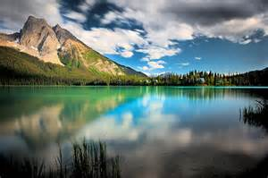 Emerald Lake Yoho National Park British Columbia