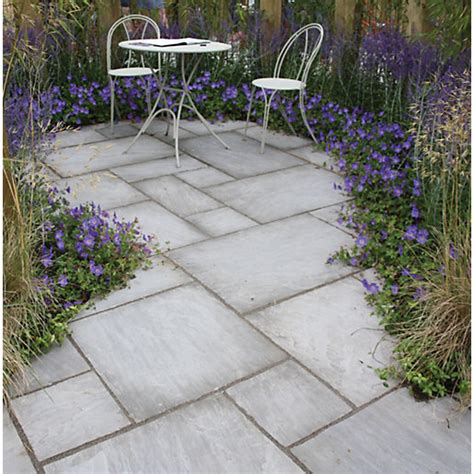 natural paving indian sandstone project pack grey