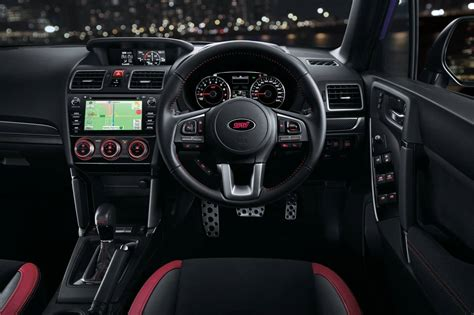Ts Interiors by 2016 Subaru Forester Ts Sti On Sale In Australia From