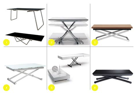 Round Up: Adjustable Height Coffee Tables ? Common Bond Design