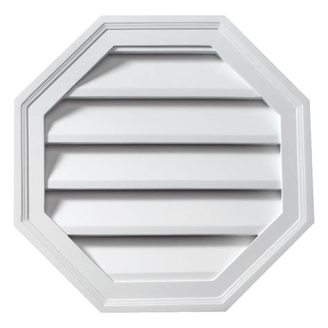 fypon ltd olv24 24 quot w x 24 quot h octagon louver decorative