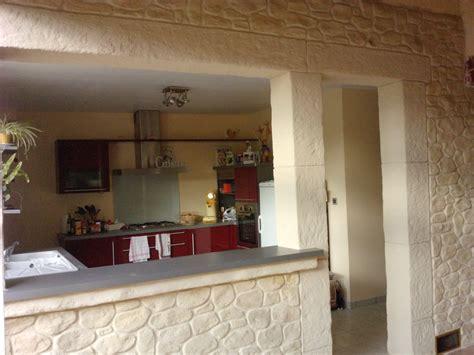 mur cuisine donnez un charme rustique à votre cuisine avec un mur en nos realisations decopierre