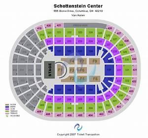 Schottenstein Center Seating Chart Schottenstein Center