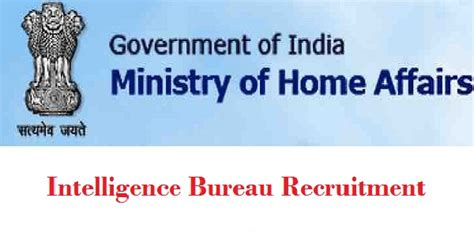 intelligence bureau sa intelligence bureau security asst recruitment 2016 apply