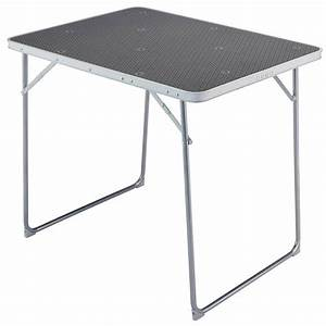 Table De Camping Pliante : table pliante 4 pers decathlon ~ Dailycaller-alerts.com Idées de Décoration