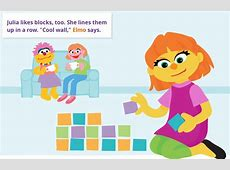 Sesame Street introduce Julia their first character with