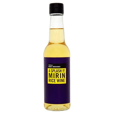 substitute for rice wine cooks ingredients rice wine mirin 250ml from ocado