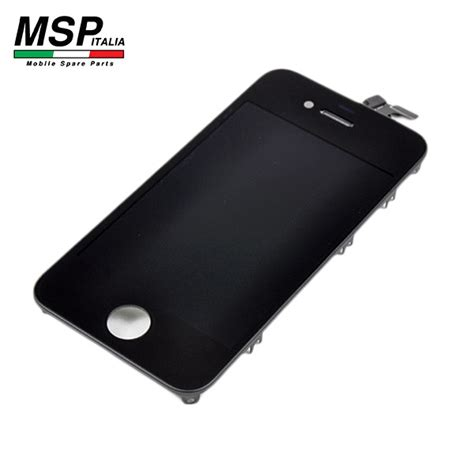Display Lcd Vetro Touch Screen (nero) Iphone 4g Msp