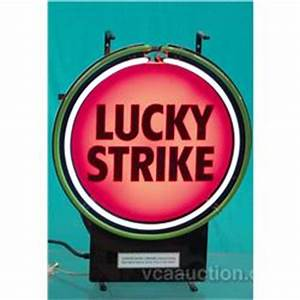 Lucky Strike Cigarettes Neon Sign 17