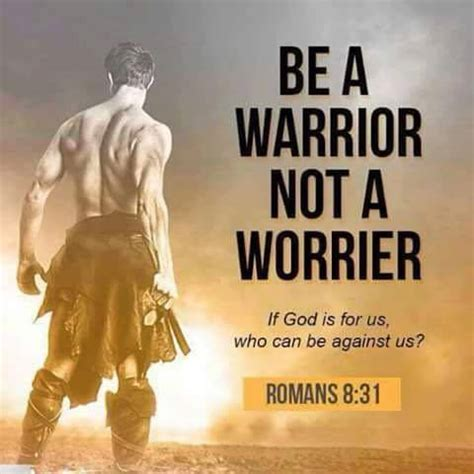 Be a Warrior not a Worrier | Christian Funny Pictures - A ...