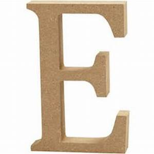 mdf wooden letter e 13 cm hobbycraft With 13 wooden letters