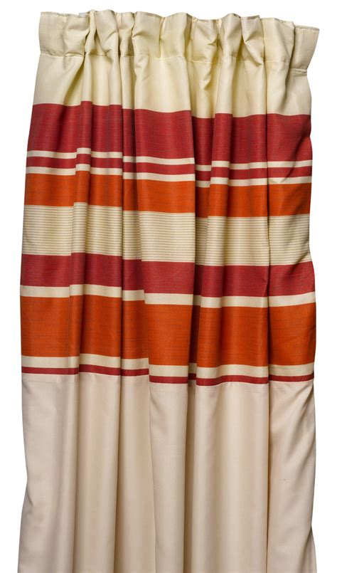 Bedroom Curtains Pencil Pleat by Ready Made Fully Lined Pencil Pleat Striped Curtains