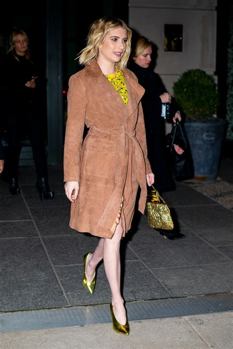 Emma Roberts' Gold Heels Are The $60 Pumps You'll Actually ...