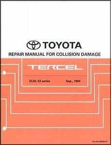 Repair Manual Toyota Tercel 1995