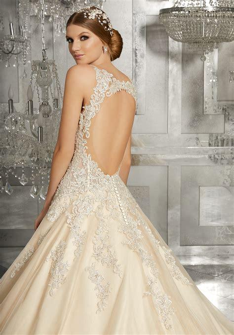 mahala wedding dress style  morilee