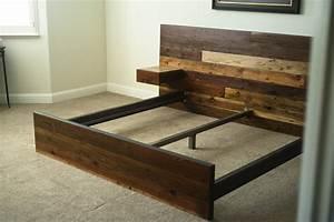 Rustic Wooden Bed — Derektime Design : How to Make Wood