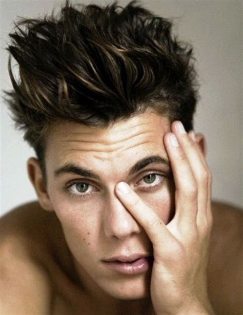 messy hairstyles for men mens craze