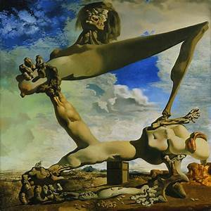 [PAINTING] [SURREALISM] Salvador Dali - ART FOR YOUR WALLPAPER