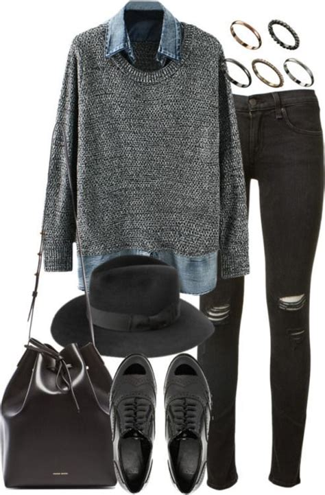 schick Trendy outfits Casual winter outfits Pinterest